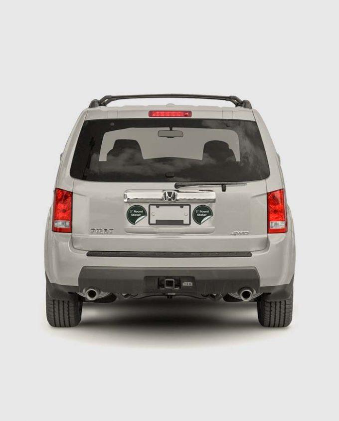 3 Inch Sticker of Vehicles