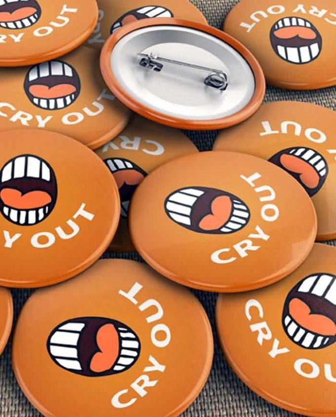 Pin Up Badge