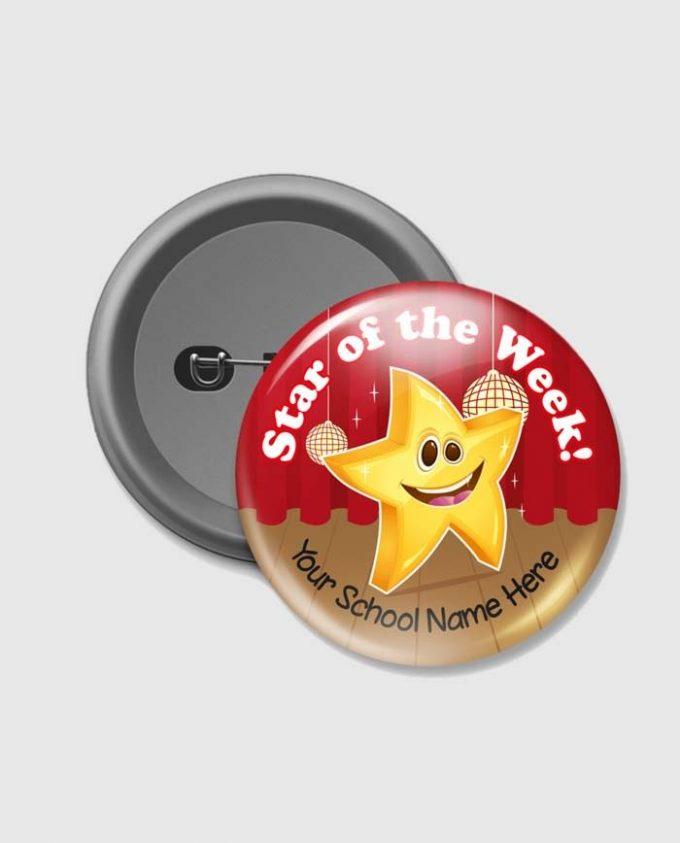 Pin Up Badge Badge Sample
